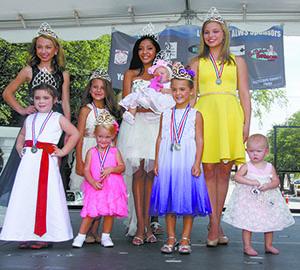 Little Miss American World Series Pageant winners...