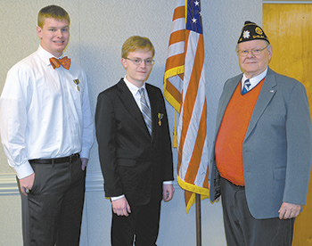 Shelby American Legion Contest Winners