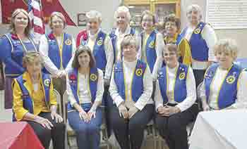 American Legion Auxiliary Unit 82 hosts District meeting
