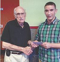 Township Three Ruritan presents scholarships