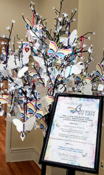 Butterfly Trees assist local cancer patients
