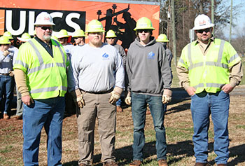 Industry Supports Electrical Lineworker Academy at CCC