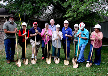 CLEVELAND RUTHERFORD KIDNEY ASSOCIATION GROUNDBREAKING
