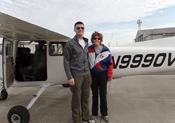 Vagnozzi earns private pilot's license