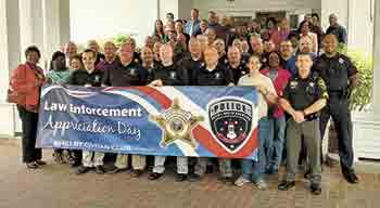 Civitans honor Law Enforcement