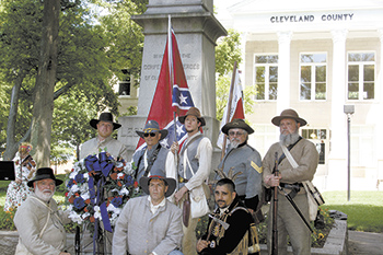 Confederate Memorial Day held