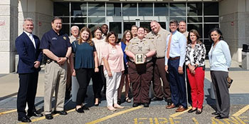 Corporal Stinnett honored as 2019 Health & Human Services Hero