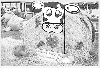 Decorated Hay Bale Contest