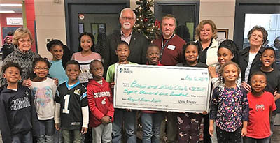 Boys & Girls Club of Cleveland County receives grant from Duke Energy