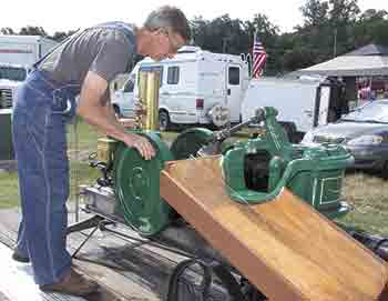 3rd Annual Threshers Reunion held at Cleveland County Fairgrounds