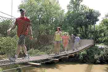 Locals are enjoying First Broad River Trail