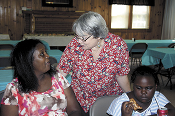 Sharon UMC Hosts Habitat for Humanity event