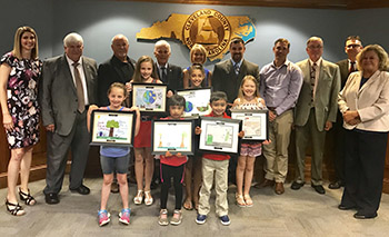 Local students aim to prevent littering through billboard contest