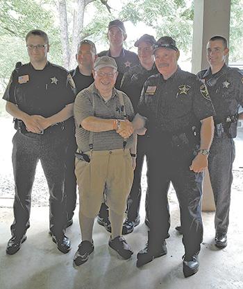 Shelby Optimist Club Salute Law Enforcement