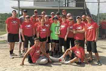 Putnam Baptist Youth Softball celebrates undefeated 12-0 season