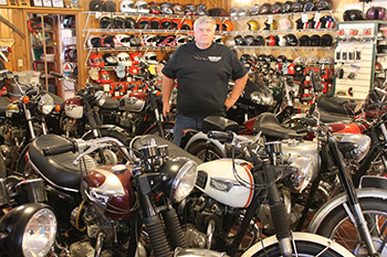 Rick Clark's classic bike shop is a blast from the past