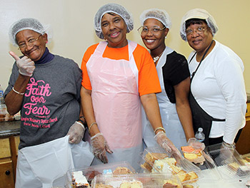 Waco Community Thanksgiving Meal held...