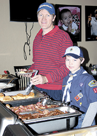 Troop 101 Holds Fundraiser