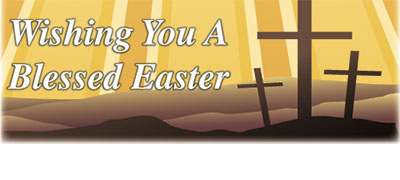 Have A Blessed Easter...