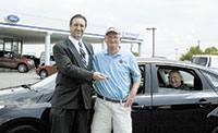 John Cline wins car in Boys & Girls Club raffle