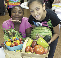 Community Math Academy Students Take A Farmers' Market Field Trip