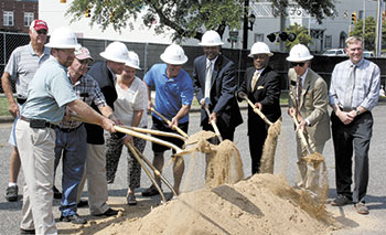 Shade Pavilion Groundbreaking