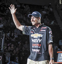 Thrift takes 7th at Professional Bass Fishing's Forrest Wood Cup presented by Walmart
