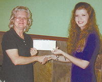 Township Number 3 Ruritan Club Presents Scholarships