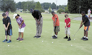 New Junior Golf Program at Shelby City Park
