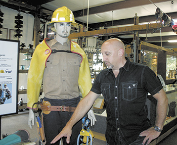 Take a stroll through history at the Lineman's Museum