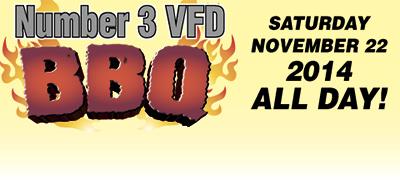 Number 3 VFD BBQ SALE