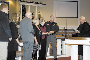 Sheriff Norman Sworn In For Second Term