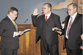 Commissioners Sworn In For Four Year Term