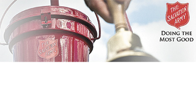 VOLUNTEER BELL RINGERS NEEDED!