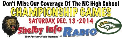 Championship Games to be broadcast on Shelby Info Radio