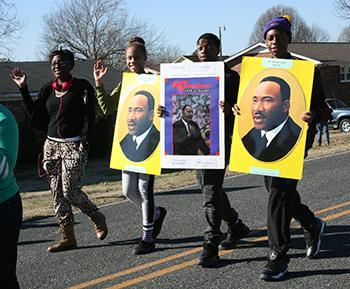 Kingstown observes Martin Luther King Jr. Day