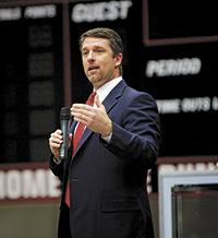 Former NFL Kicker Offers GWU Community Three Points for Life