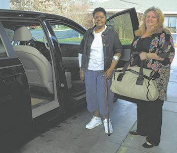 Cleveland Rutherford Kidney Association Provides Transport for Dialysis Patients