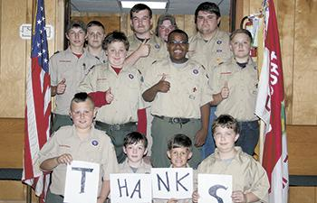 Lawndale Hosts Fish Fry for Boy & Cub Scouts Troop 112