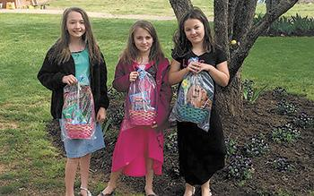 Crossroads Easter Egg hunt for local children