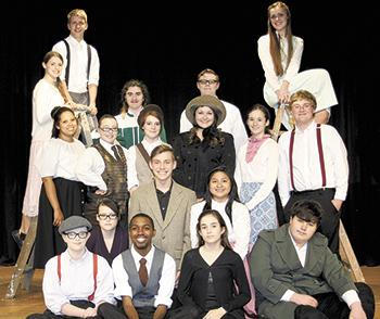 """Burns students perform """"Our Town"""""""