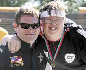 Special Olympics Cleveland County...