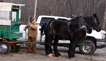 Wagon Train & Ride covers twenty-two miles and two counties