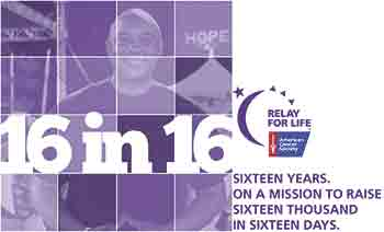 American Cancer Society Relay For Life Hall of Fame member Jeff Ross on a mission to raise $16,000 in 16 Days