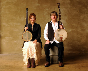 Earl Scruggs Center and Don Gibson Theatre present Bela Fleck and Abigail Washburn