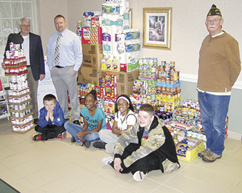 Food Drive nets hundreds of pounds of goods