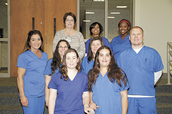 Nurse Aide 1 students pinned at CCC