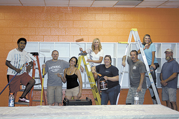 Clearwater Paper Crew Volunteers At Boys & Girls Club
