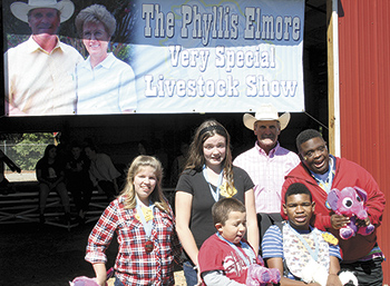 Annual Phyllis Elmore Special Livestock Show held at Burns High School