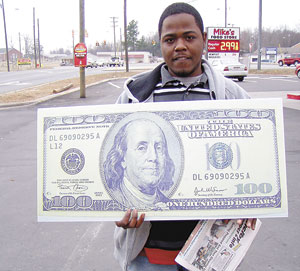 CHADWICK ALLISON WINS $100! JUST FOR READING SHELBY SHOPPER & INFO